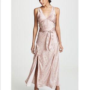 Love Shack Fancy Kendall Silk Dress